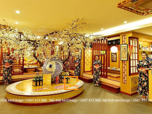sai lam co ban trong thiet ke nha hang nhat ban 4 533x400 - Sai lầm cơ bản trong thiết kế nhà hàng Nhật Bản
