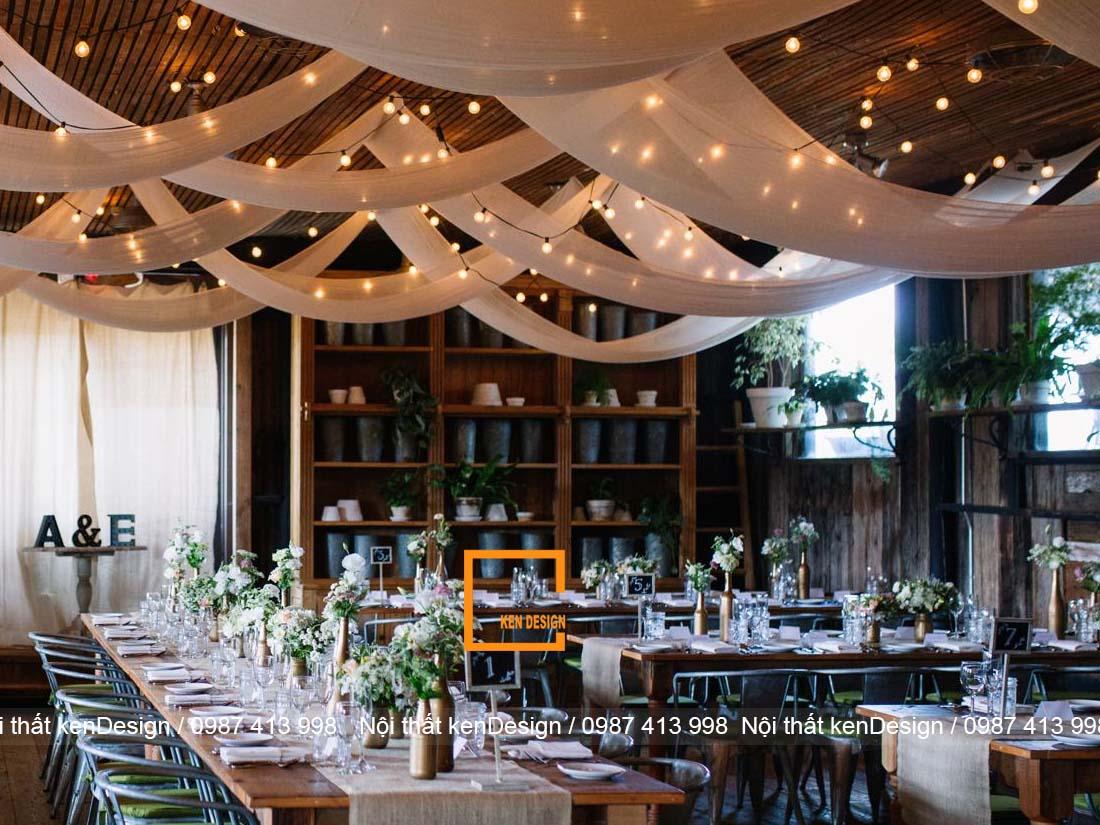 the nao la mot thiet ke nha hang tiec cuoi dep 1 - Thế nào là một thiết kế nhà hàng tiệc cưới đẹp?