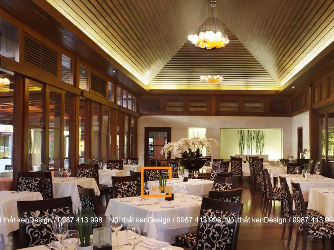 thi cong kien truc nha hang chiu anh huong cua cac yeu to nao 4 1067x800 - Thi công kiến trúc nhà hàng chịu ảnh hưởng của các yếu tố nào?
