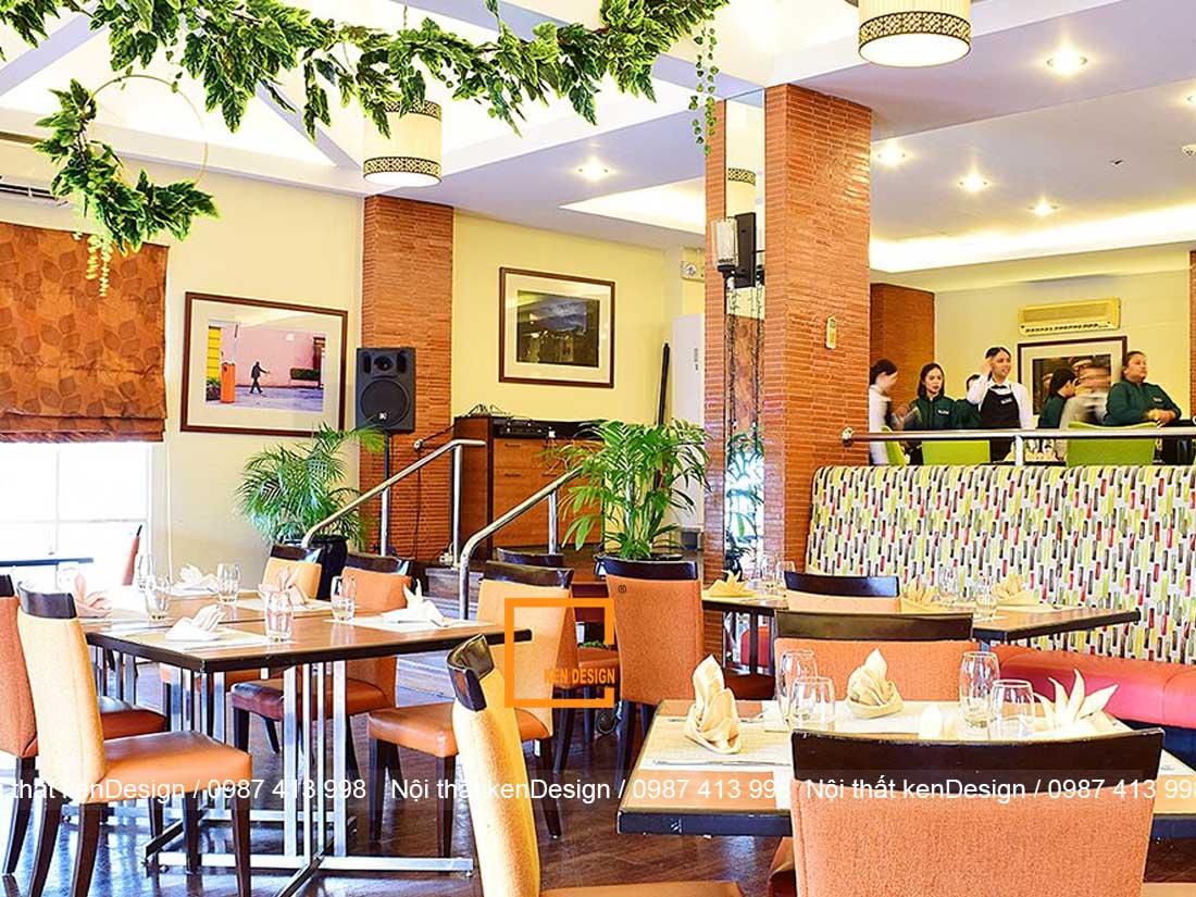 thiet ke nha hang dep hon neu dam bao 3 yeu to nay 1 - Thiết kế nhà hàng đẹp hơn nếu đảm bảo 3 yếu tố này