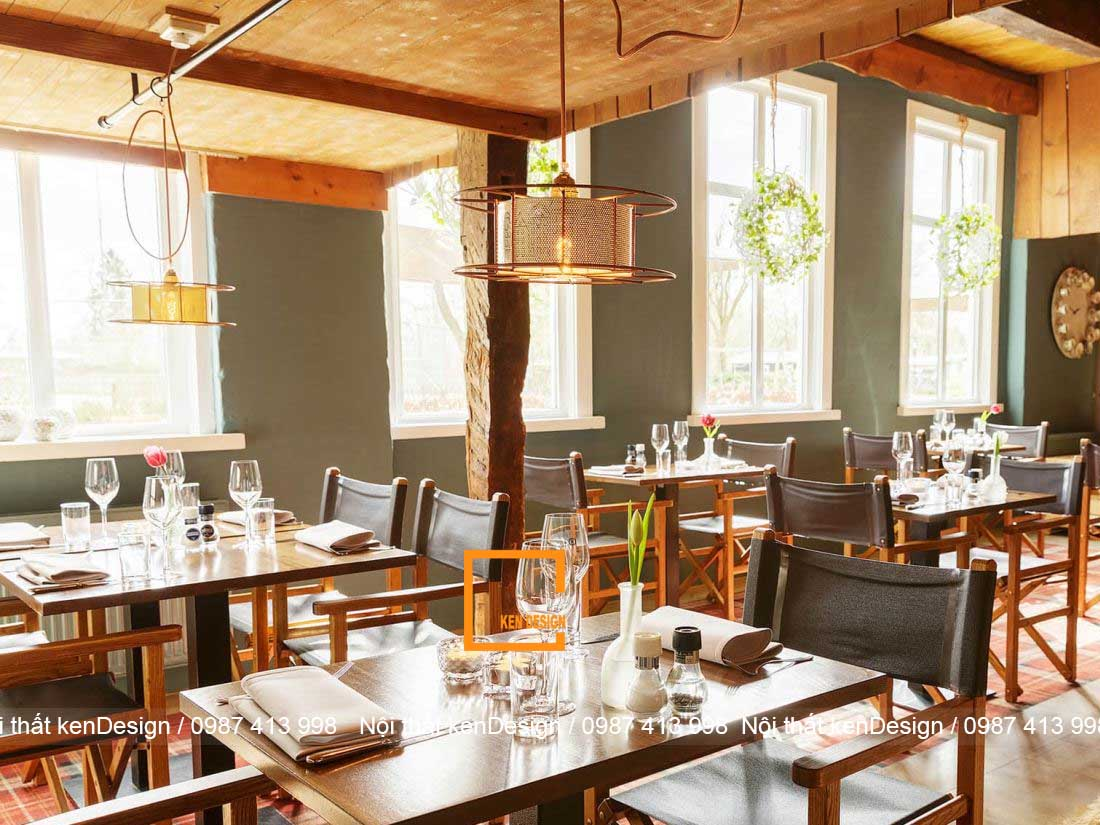 thiet ke nha hang dep hon neu dam bao 3 yeu to nay 2 - Thiết kế nhà hàng đẹp hơn nếu đảm bảo 3 yếu tố này