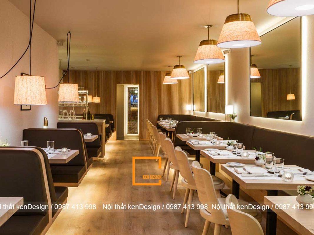 thiet ke nha hang dep hon neu dam bao 3 yeu to nay 3 1067x800 - Thiết kế nhà hàng đẹp hơn nếu đảm bảo 3 yếu tố này