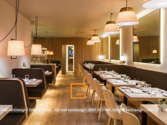 thiet ke nha hang dep hon neu dam bao 3 yeu to nay 3 533x400 - Thiết kế nhà hàng đẹp hơn nếu đảm bảo 3 yếu tố này