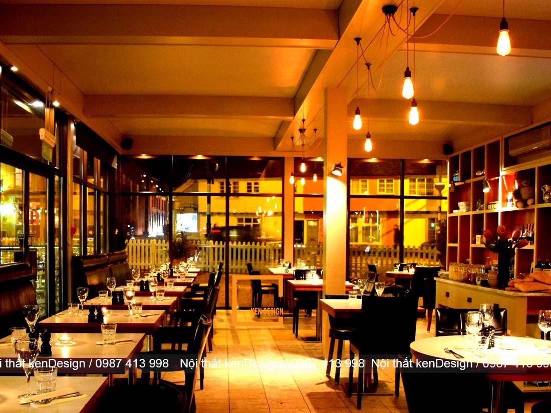 thiet ke nha hang dep hon neu dam bao 3 yeu to nay 4 - Thiết kế nhà hàng đẹp hơn nếu đảm bảo 3 yếu tố này