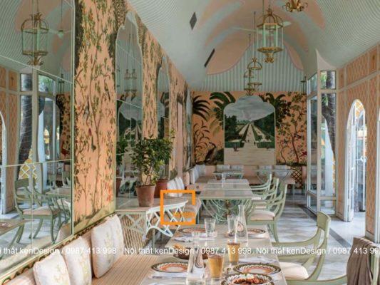 thiet ke noi that nha hang phong cach nhiet doi 1 533x400 - Thiết kế nội thất nhà hàng phong cách nhiệt đới