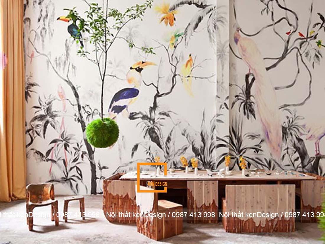 thiet ke noi that nha hang phong cach nhiet doi 3 - Thiết kế nội thất nhà hàng phong cách nhiệt đới