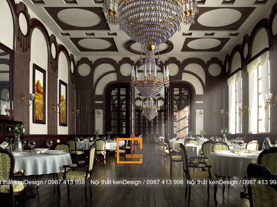 uu diem va han che khi thiet ke nha hang phong cach co dien 2 - Ưu điểm và hạn chế khi thiết kế nhà hàng phong cách cổ điển