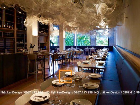 5 loi khuyen hieu qua khi thiet ke noi that nha hang an uong 5 533x400 - 5 lời khuyên hiệu quả khi thiết kế nội thất nhà hàng ăn uống