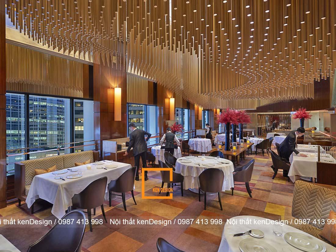 bi quyet cho mot thiet ke nha hang cao cap 4 - Bí quyết cho một thiết kế nhà hàng cao cấp