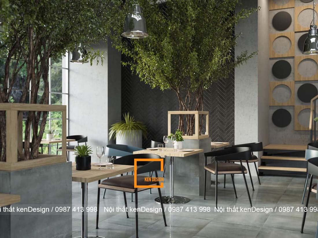 bo tui thiet ke thi cong nha hang phong cach hien dai 1 - Bỏ túi cách thiết kế thi công nhà hàng phong cách hiện đại