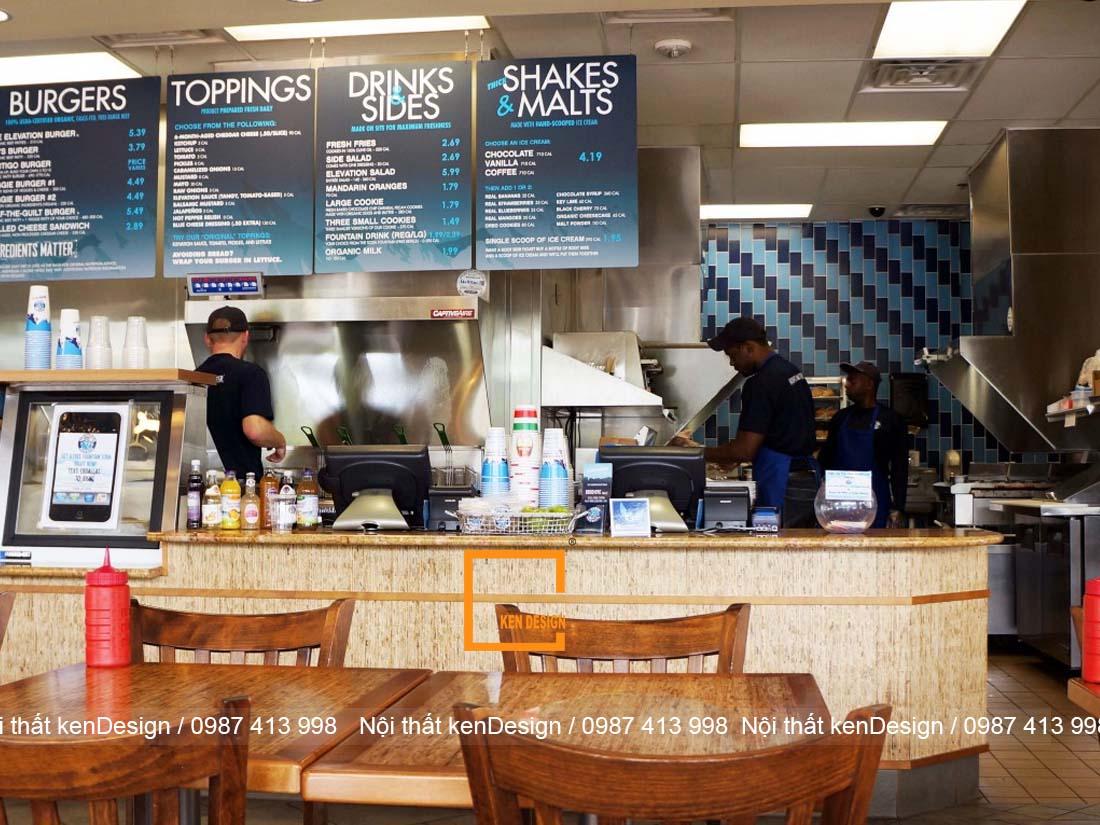 cach thiet ke nha hang an nhanh dien tich han che 4 - Cách thiết kế nhà hàng ăn nhanh diện tích hạn chế