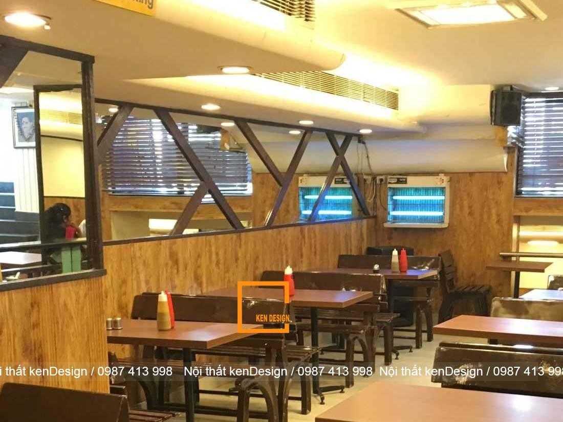 cach thiet ke nha hang an nhanh dien tich han che 5 - Cách thiết kế nhà hàng ăn nhanh diện tích hạn chế