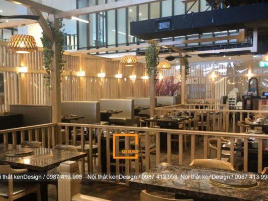cach thiet ke nha hang bbq phong cach hien dai 1 533x400 - Cách thiết kế nhà hàng BBQ phong cách hiện đại