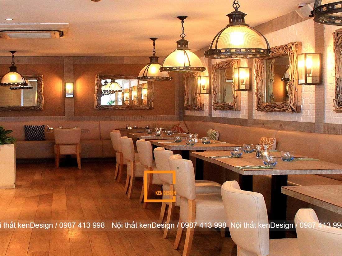 cach thiet ke nha hang chuyen nghiep dam bao cong nang 4 - Cách hiết kế nhà hàng chuyên nghiệp, đảm bảo công năng
