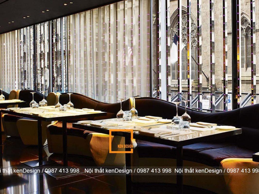 cach thiet ke nha hang phong cach hien dai doc dao va sang tao 2 1067x800 - Cách thiết kế nhà hàng phong cách hiện đại độc đáo và sáng tạo