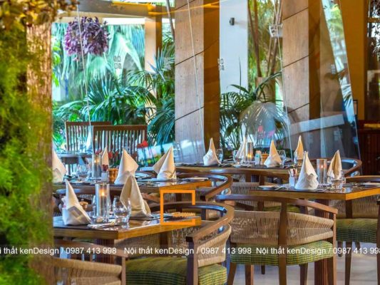 huong dan cach thiet ke nha hang phong cach nhiet doi 4 533x400 - Hướng dẫn cách thiết kế nhà hàng phong cách nhiệt đới