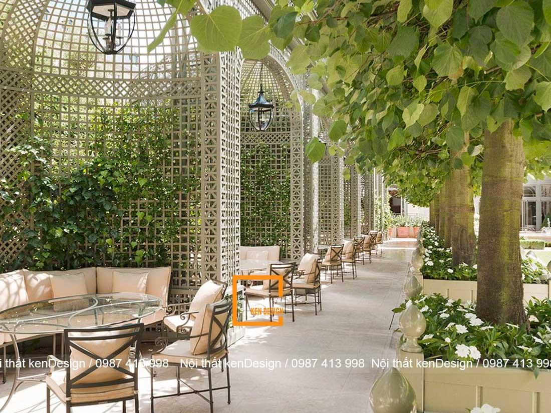 kinh nghiem thiet ke thi cong nha hang san vuon 2 - Kinh nghiệm thiết kế thi công nhà hàng sân vườn