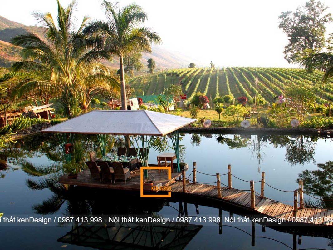 kinh nghiem thiet ke thi cong nha hang san vuon 3 1067x800 - Kinh nghiệm thiết kế thi công nhà hàng sân vườn