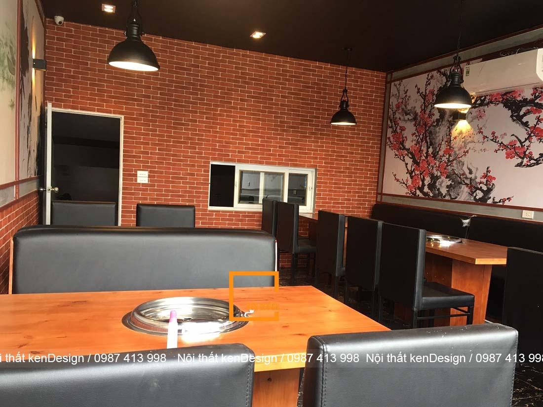 luu y khi thiet ke noi that nha hang bbq 2 - Lưu ý khi thiết kế nội thất nhà hàng BBQ