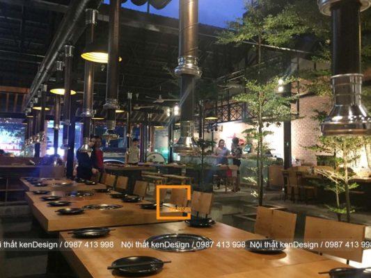 mau thiet ke nha hang lau nuong khong khoi duoc khach hang yeu thich 1 533x400 - Mẫu thiết kế nhà hàng lẩu nướng không khói được khách hàng yêu thích
