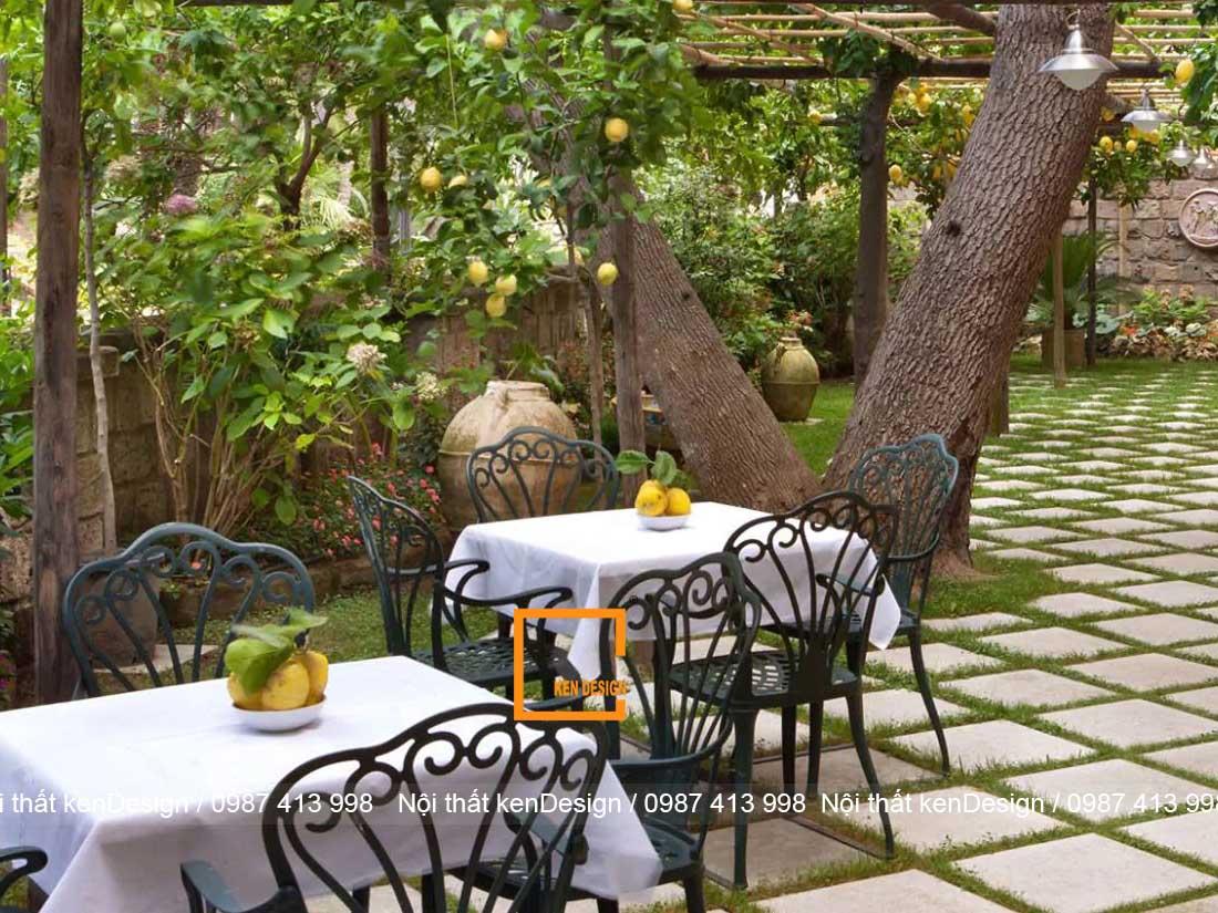 mot so mau thiet ke nha hang san vuon dang chu y 4 - Một số mẫu thiết kế nhà hàng sân vườn đáng chú ý