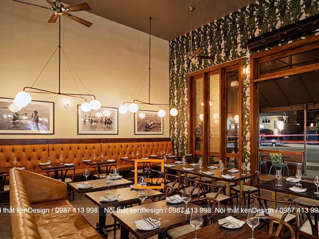mot so xu huong thiet ke thi cong nha hang pho bien hien nay 3 - Một số xu hướng thiết kế thi công nhà hàng phổ biến hiện nay