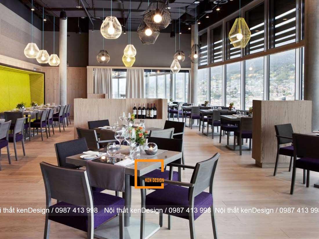 nhung sai lam khi thiet ke noi that nha hang an uong 4 - Những sai lầm khi thiết kế nội thất nhà hàng ăn uống