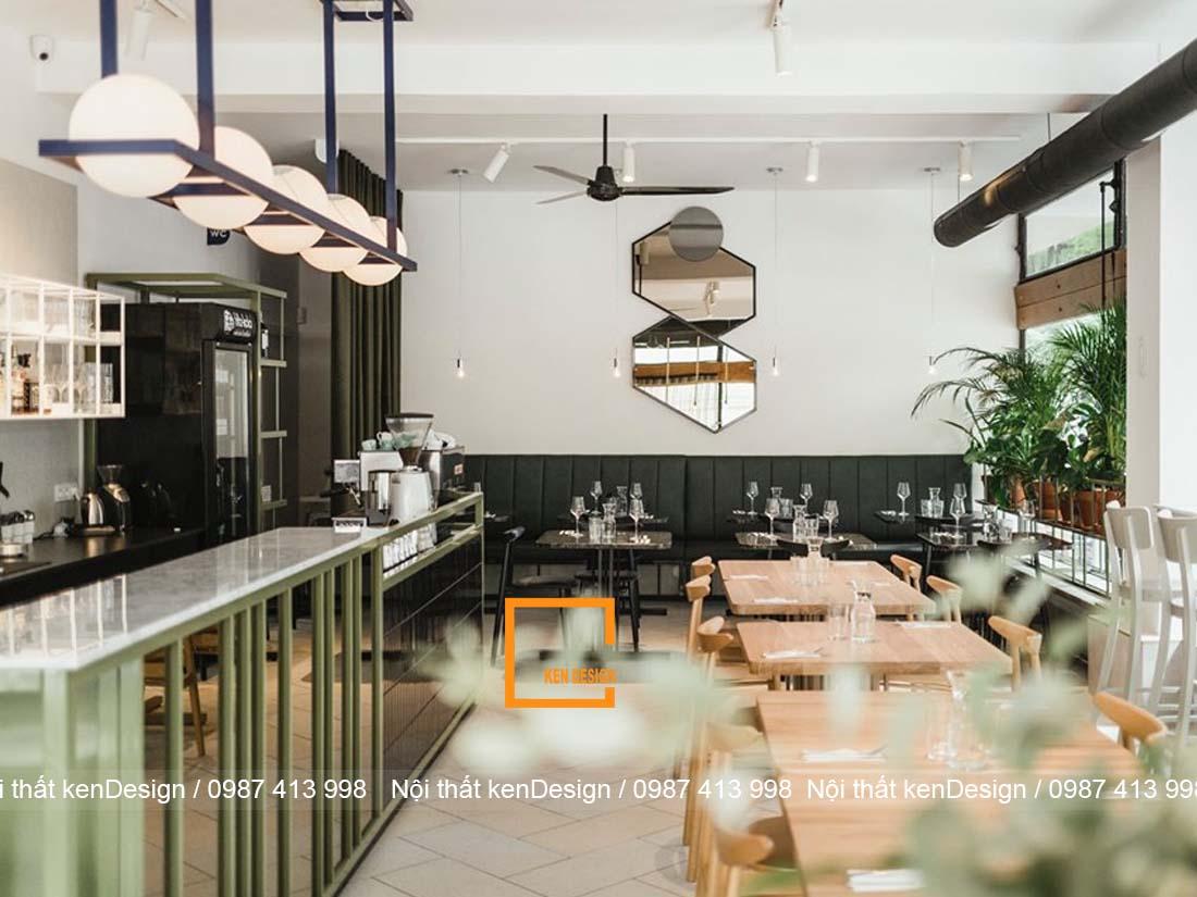 nhung tieu chuan khi thi cong kien truc nha hang 3 - Những tiêu chuẩn khi thi công kiến trúc nhà hàng