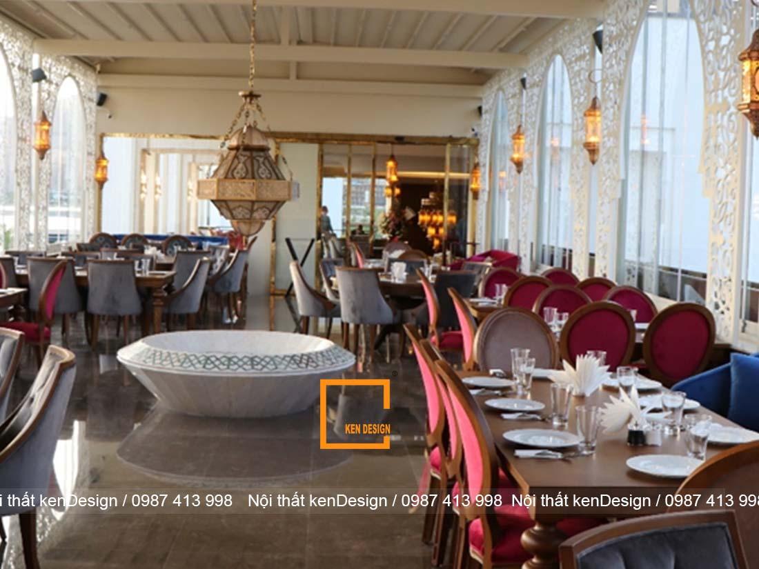 phuong phap thiet ke nha hang an uong cao cap sang trong 1 - Phương pháp thiết kế nhà hàng ăn uống cao cấp, sang trọng