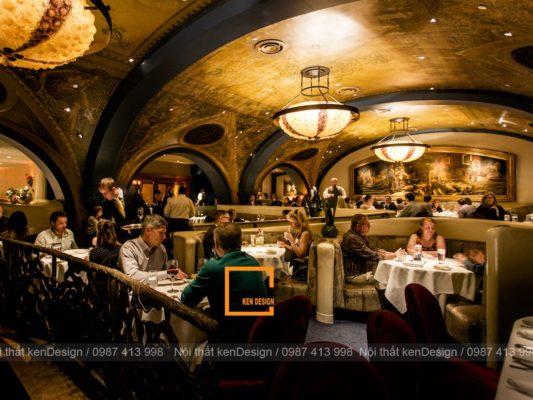 phuong phap thiet ke thi cong nha hang phong cach co dien 1 533x400 - Phương pháp thiết kế thi công nhà hàng phong cách cổ điển