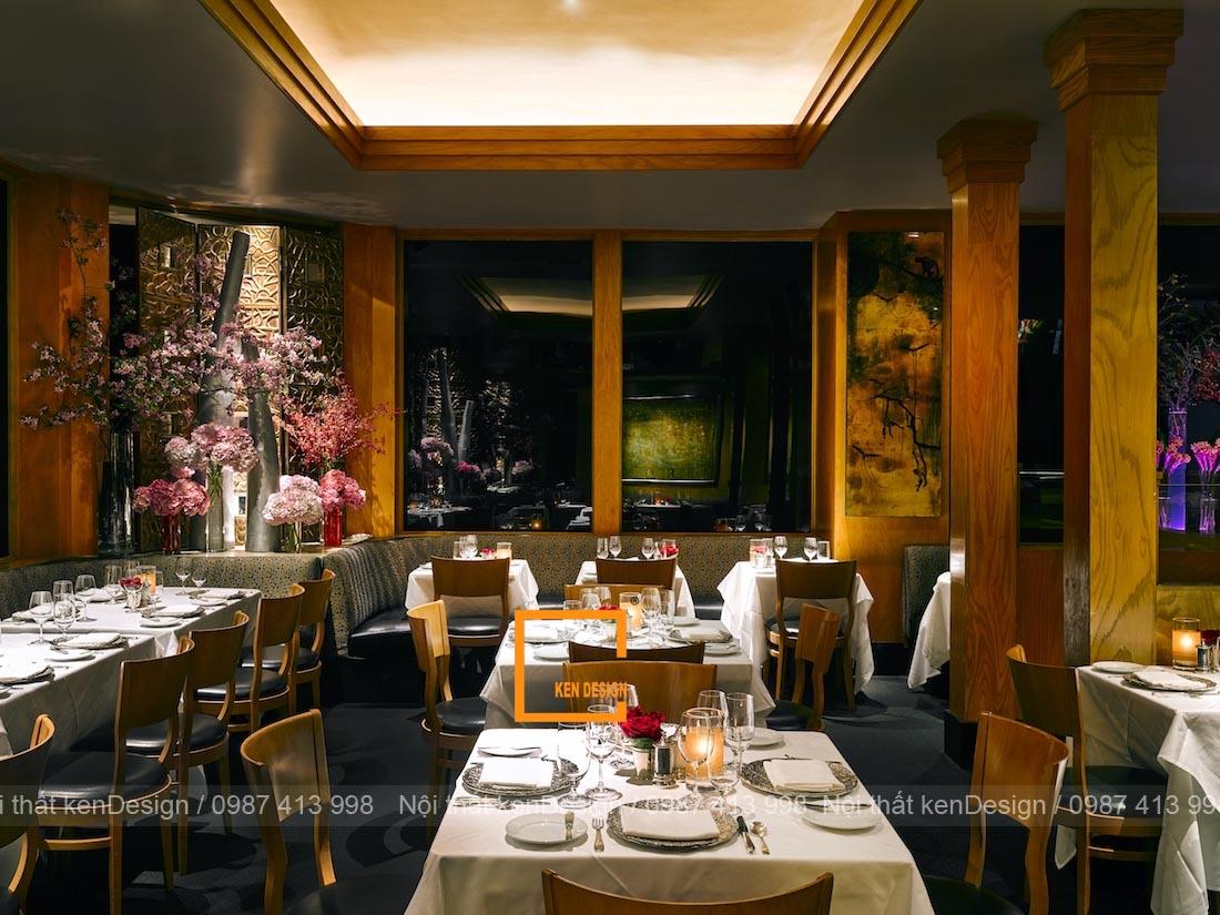 phuong phap thiet ke thi cong nha hang phong cach co dien 4 - Phương pháp thiết kế thi công nhà hàng phong cách cổ điển