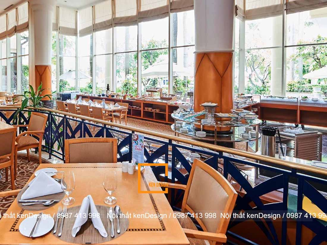 sai lam thuong thay khi thiet ke nha hang tai khach san 2 - Sai lầm thường thấy khi thiết kế nhà hàng tại khách sạn
