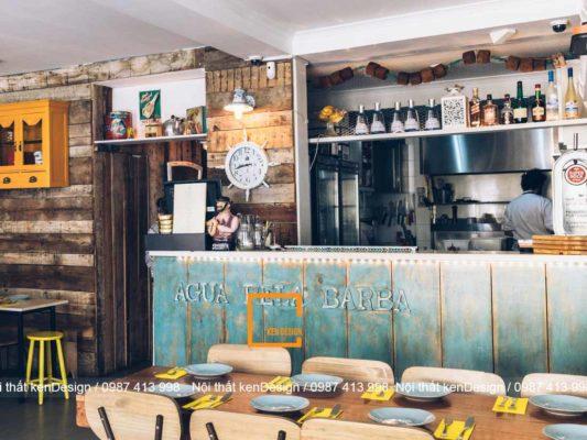 thiet ke ban ghe nha hang cho dien tich han che 4 533x400 - Thiết kế bàn ghế nhà hàng cho diện tích hạn chế