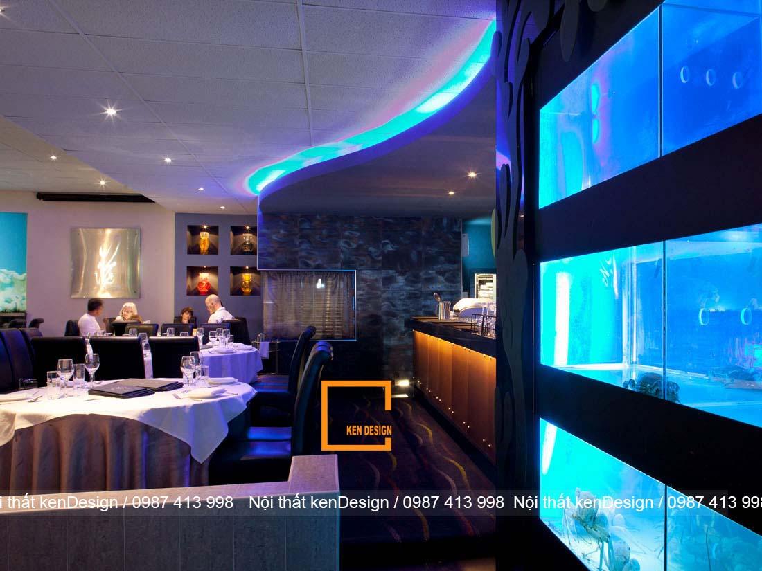 thiet ke be nha hang hai san khu vuc nao la hop ly nhat 1 - Thiết kế bể nhà hàng hải sản khu vực nào là hợp lý nhất?