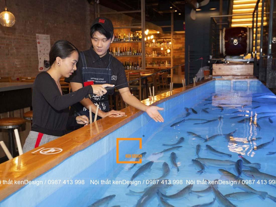 thiet ke be nha hang hai san khu vuc nao la hop ly nhat 3 - Thiết kế bể nhà hàng hải sản khu vực nào là hợp lý nhất?
