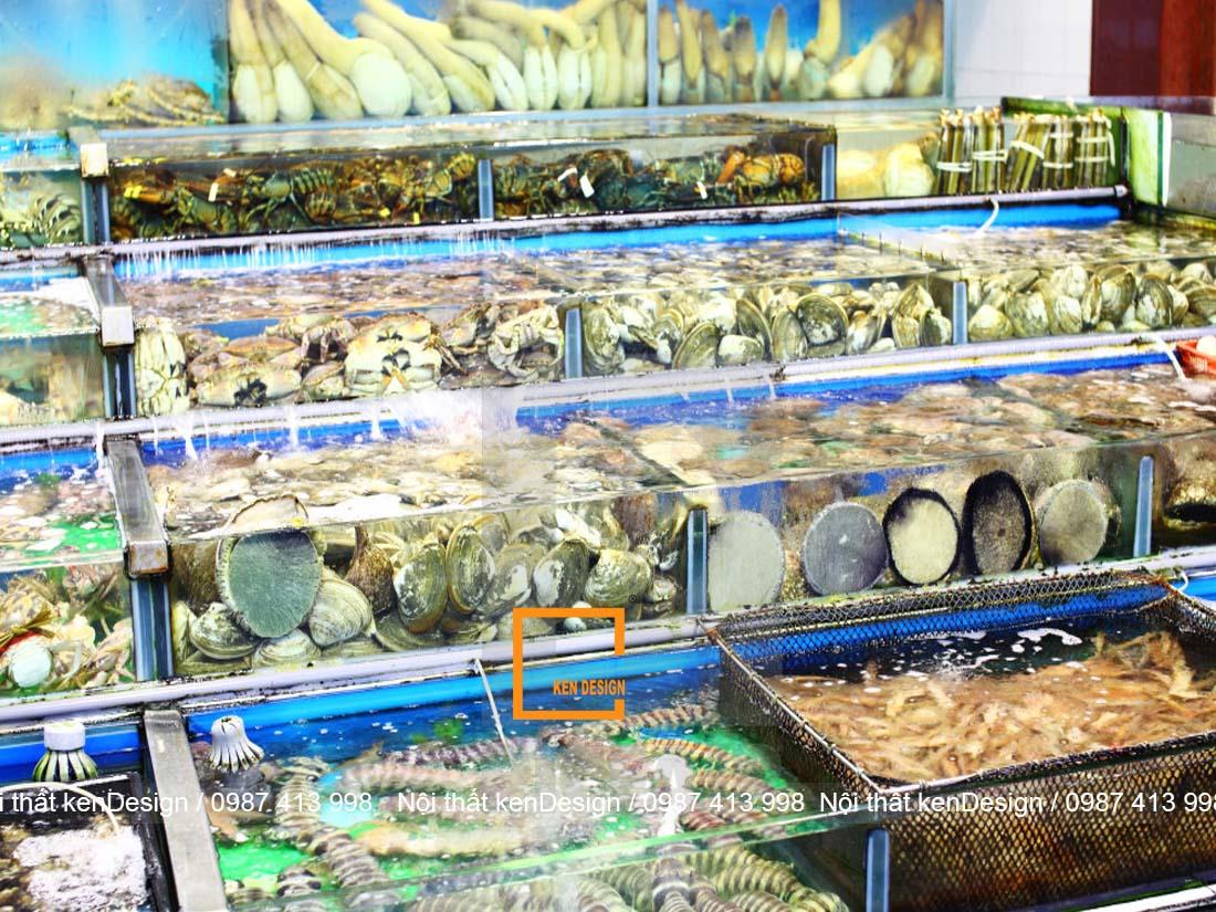 thiet ke be nha hang hai san khu vuc nao la hop ly nhat 4 - Thiết kế bể nhà hàng hải sản khu vực nào là hợp lý nhất?