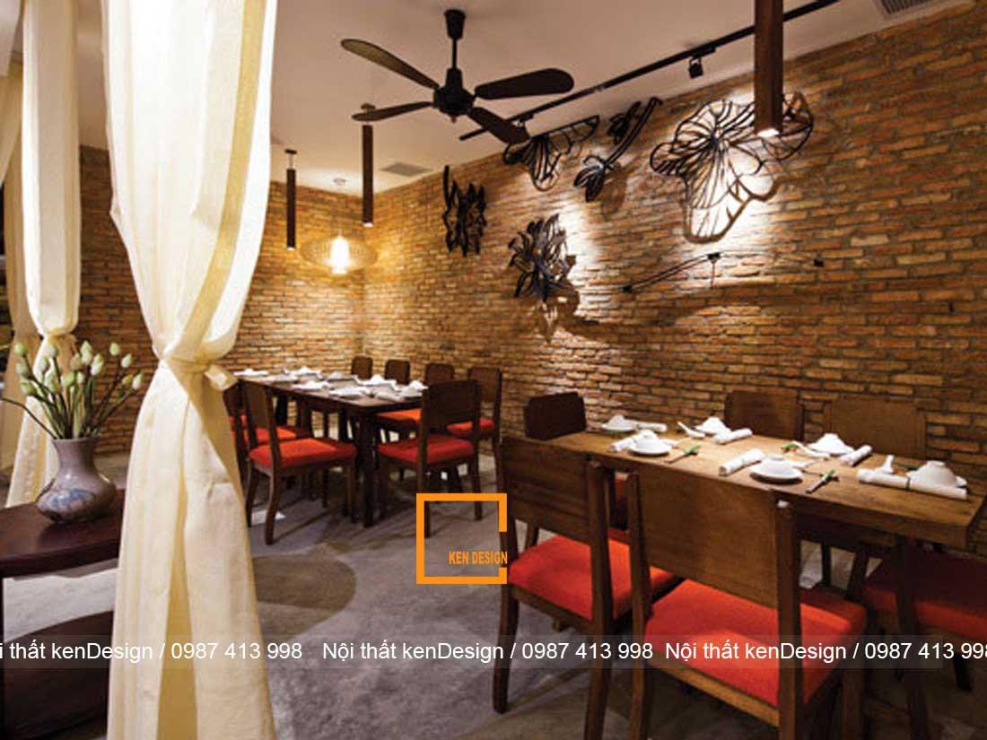 thiet ke nha hang chay voi khong gian hien dai sang trong 1 - Thiết kế nhà hàng chay với không gian hiện đại, sang trọng