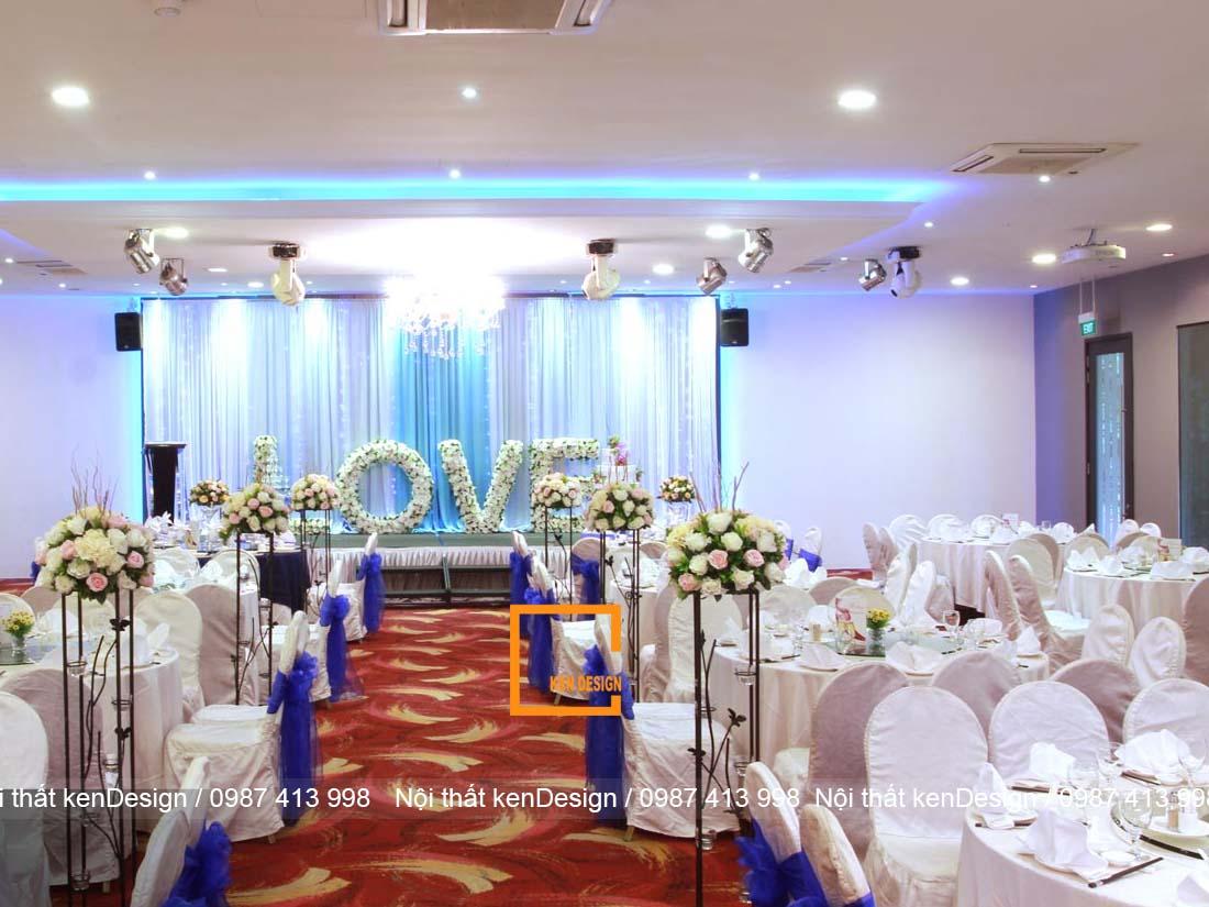thiet ke nha hang tiec cuoi tai cac thanh pho lon nhu the nao 1 - Thiết kế nhà hàng tiệc cưới tại các thành phố lớn như thế nào?