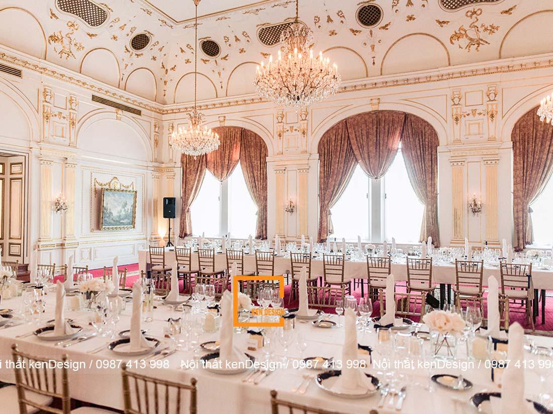 thiet ke nha hang tiec cuoi tai cac thanh pho lon nhu the nao 4 - Thiết kế nhà hàng tiệc cưới tại các thành phố lớn như thế nào?