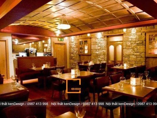 tieu chuan thiet ke nha hang phong cach truyen thong 4 533x400 - Tiêu chuẩn thiết kế nhà hàng phong cách truyền thống