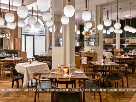 tieu chuan thiet ke thi cong nha hang tron goi 2 533x400 - Tiêu chuẩn thiết kế thi công nhà hàng trọn gói