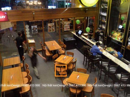 xu huong thi cong nha hang don gian noi bat 4 533x400 - Xu hướng thi công nhà hàng đơn giản, nổi bật