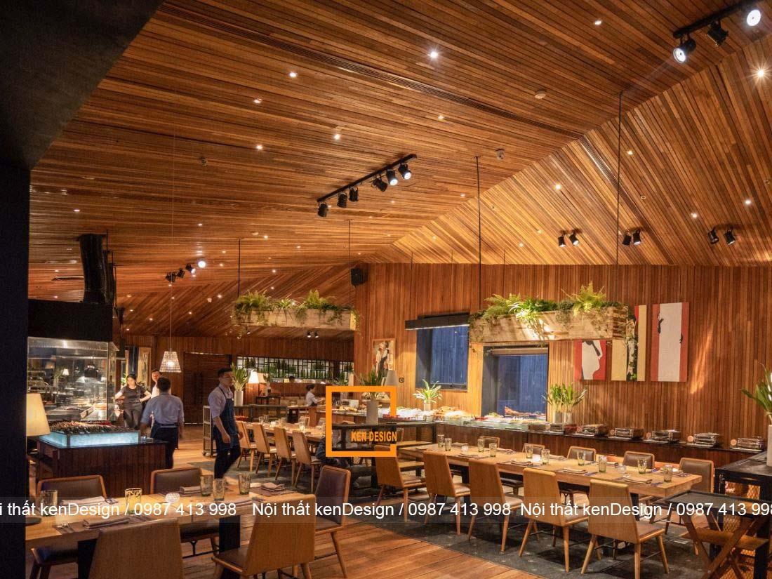 y tuong thiet ke nha hang dep nhe nhang don gian 1 - Ý tưởng thiết kế nhà hàng đẹp nhẹ nhàng, đơn giản