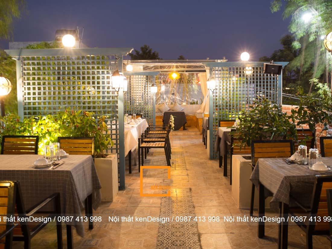 y tuong thiet ke nha hang dep nhe nhang don gian 2 - Ý tưởng thiết kế nhà hàng đẹp nhẹ nhàng, đơn giản