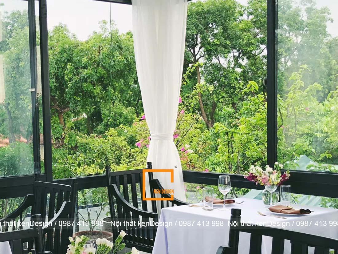 y tuong thiet ke nha hang dep nhe nhang don gian 3 - Ý tưởng thiết kế nhà hàng đẹp nhẹ nhàng, đơn giản