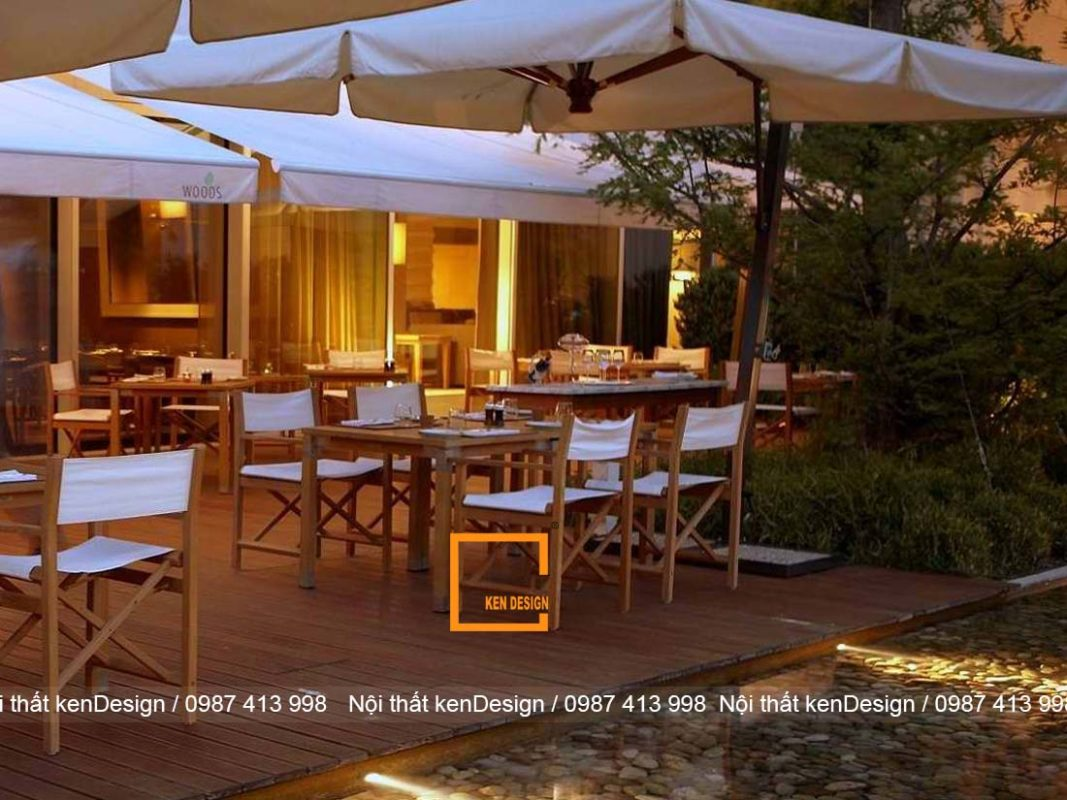 y tuong thiet ke nha hang dep nhe nhang don gian 4 1067x800 - Ý tưởng thiết kế nhà hàng đẹp nhẹ nhàng, đơn giản