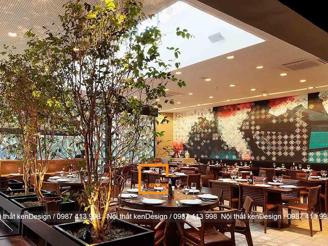 y tuong thiet ke nha hang voi khong gian xanh cho mua he tuoi mat 1 - Ý tưởng thiết kế nhà hàng với không gian xanh cho mùa hè tươi mát