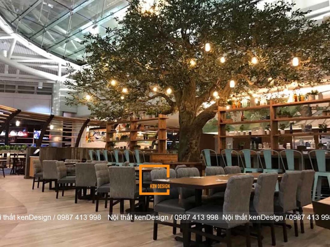 y tuong thiet ke nha hang voi khong gian xanh cho mua he tuoi mat 2 1067x800 - Ý tưởng thiết kế nhà hàng với không gian xanh cho mùa hè tươi mát