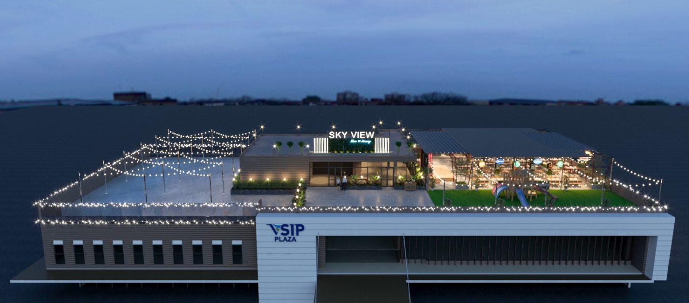 71832176 735530546894812 4277204913286545408 n 1400x616 - Sky View tại Quảng Ngãi - Độc lạ với nội thất Á- Âu đan xen trong thiết kế nhà hàng