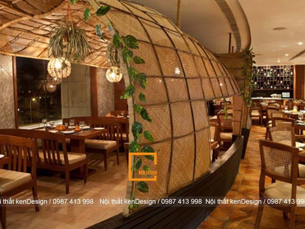 bat mi cach tao diem nhan trong thiet ke noi that nha hang 3 1067x800 - Bật mí cách tạo điểm nhấn trong thiết kế nội thất nhà hàng